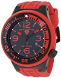 Swiss Legend Men's 21818P-BB-01-RBS Neptune Black and Red Watch, Watch Central