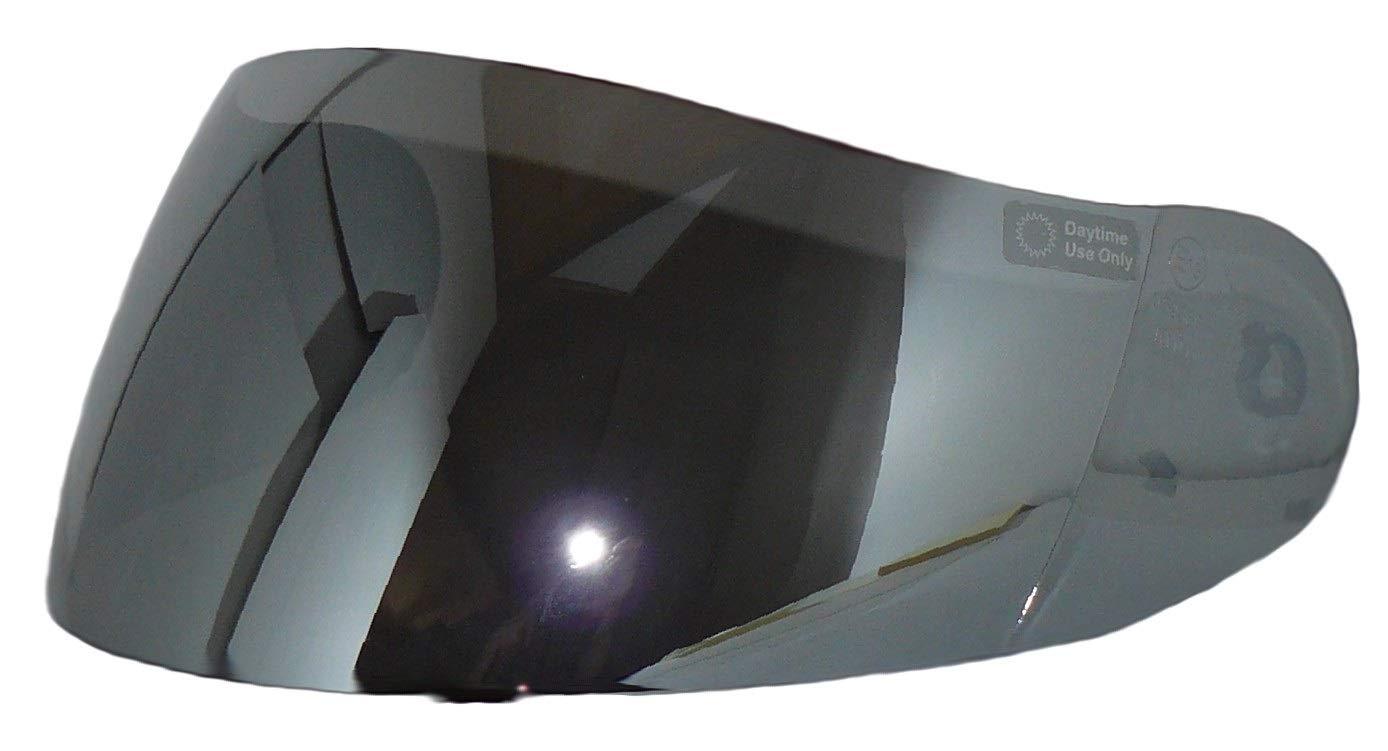 Protectwear visi/ère de rechange convenant /à toutes les tailles de casque argent/é miroir taille unique pour casque de moto H510