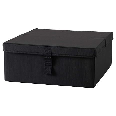 IKEA ASIA LYCKSELE Caja de almacenaje Silla cama Negro