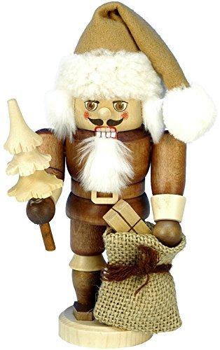32-603 - Christian Ulbricht Mini Nutcracker - Santa - 6.75''''H x 3.25''''W x 3.5''''D