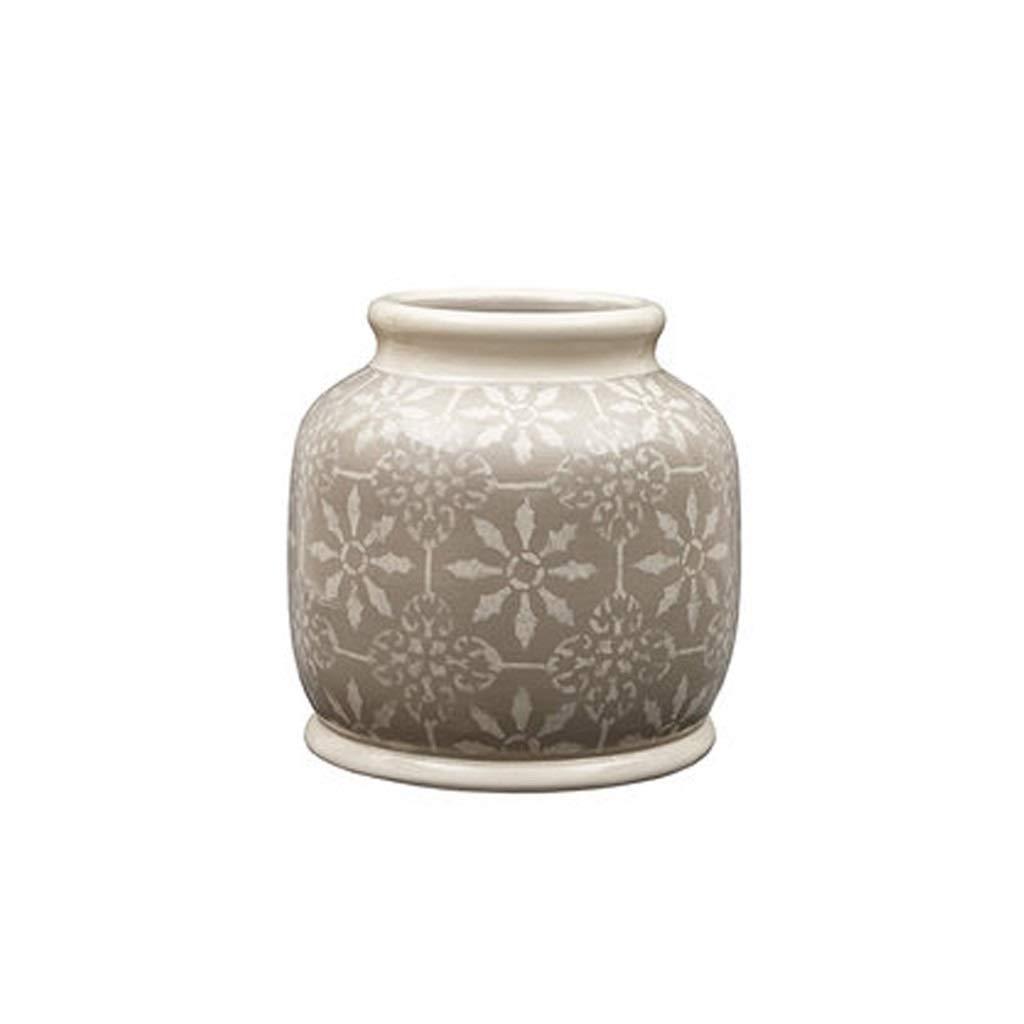LIULIJUN アメリカのセラミック花瓶花瓶リビングルームの装飾クリエイティブホームデコレーション B07T59JZCR