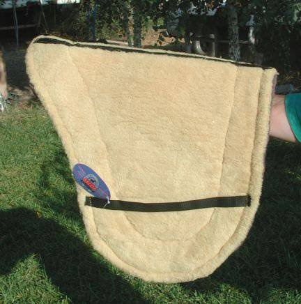 Australian Saddles And Tack - Australian super thick Felt/Fleece Saddle Pad