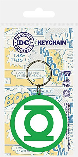 DC Comics Llavero caucho Green Lantern 6 cm: Amazon.es ...
