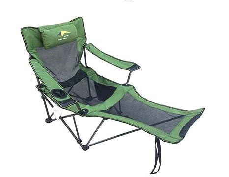 Sedia pieghevole regolabile a doppio uso sedie a sdraio pieghevoli
