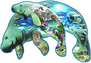product image for SUNSOUT INC Manatees 1000 pc Jigsaw Puzzle