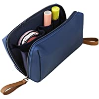 feelingood Women Nylon Cosmetic Bag Small Make Up Organizer Storage Bags Waterproof Travel Necessities Bag