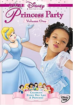 Disney Princess Party Volume 1 Princess Party Movies