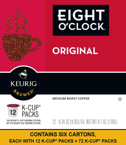 Eight Oclock Coffee the Original, Keurig K-Cups, (72 Count)