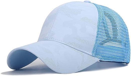 Qlans Gorra de béisbol de algodón unisex Sombrero de camionero de ...