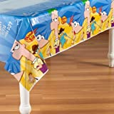 Phineas And Ferb Plastic Table Cover (1ct)