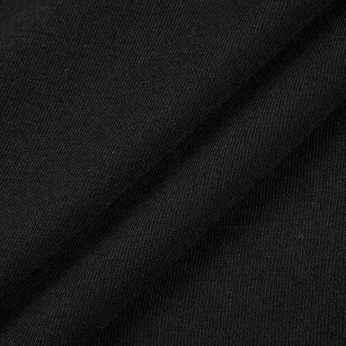 Col Couleur Uni Manches V paules Bringbring Noir Blouse 4 Dnudes 3 Tunique Femme Tops Chemisier Chemise Casual qwxXtHRWT