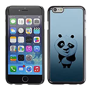 Apple (4.7 inches!!!) iPhone 6 , Radio-Star - Cáscara Funda Case Caso De Plástico (Cute Panda Bear Illustration)