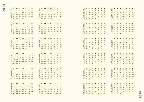 2018 Celestial Weekly Planner (16-Month Engagement Calendar)