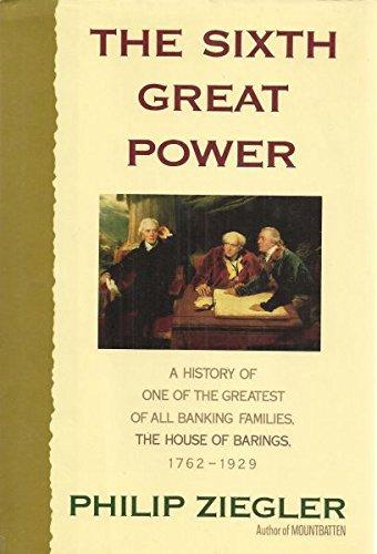 Barings Bank - The Sixth Great Power