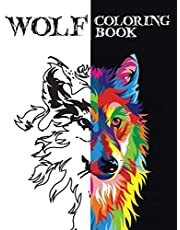 wolf coloring book: for adults man/woman and boys mandala wolf pictures high quality exclusive pictures gift for you -unique wolves
