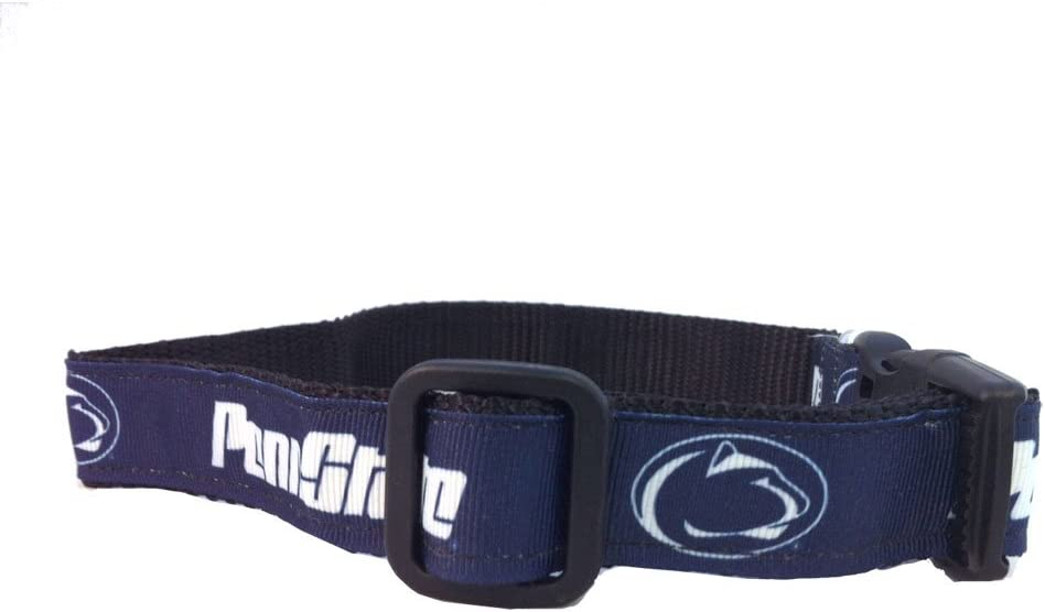 Team Color, Medium NCAA Penn State Nittany Lions Dog Collar