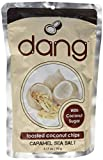 Dang Gluten-Free Toasted Coconut Chips, Caramel Sea Salt, 3.17oz, Pack of 12