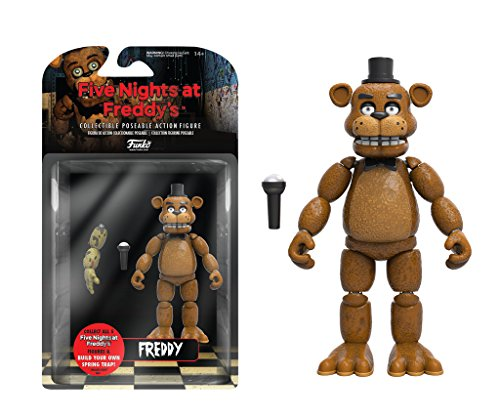 (Funko Five Nights at Freddy's Articulated Freddy Action Figure,)