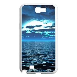 Sea Samsung Galaxy N2 7100 Cell Phone Case White MUS9135176