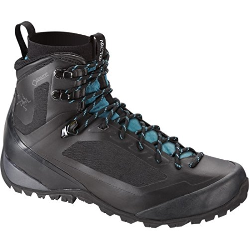 Arcteryx Bora Mid GTX Hiking Boot - Women's Black / Mid Seaspray 8 US by Arc'teryx