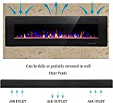 R.W.FLAME 68 inch Recessed and Wall Mounted