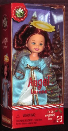 Angel Lorena - Barbie Kelly Club - Xmas Ornament Doll (2001)