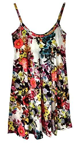 Papaval - Camiseta sin mangas - para mujer Floral 6