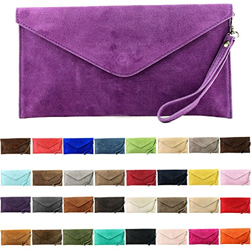 Leather ital Evening de Wrist Underarm Clutch T106 bag Sand bag modamoda bag Wild Shoulder handcuffs bag leather Colors bag pE8xq75w