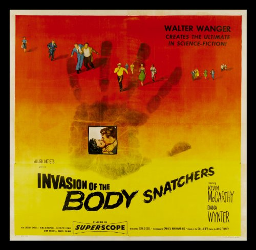 Invasion Of The Body Snatchers * 6SH Movie Poster 1956