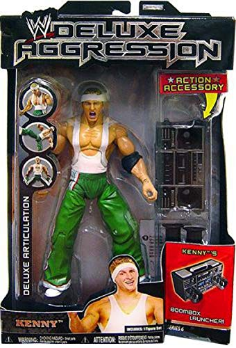Jakks Pacific WWE Wrestling Deluxe Aggression Series 6 Kenny Action Figure