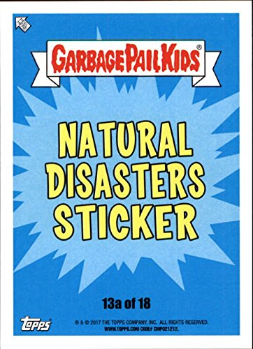 2017 Garbage Pail Kids Adam-Geddon Natural Disasters #13a Pompeii Jay ()