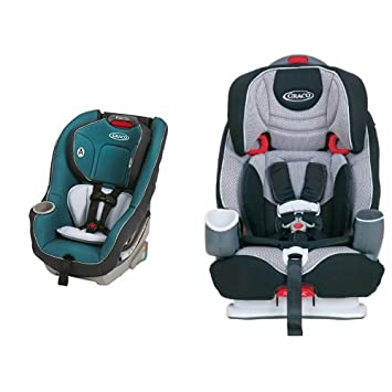 Amazon.com : Graco Contender 65 Convertible Car Seat and Nautilus 3