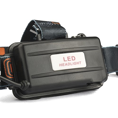 X.Store 8000 Lumens Headlamp LED Flashlight Bright Headlight Torch with 18650 Rechargeable Batteries and Wall Charger for Outdoor by X.Store (Image #5)