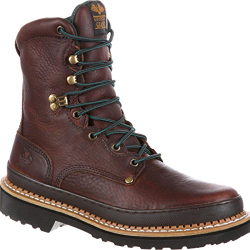 Georgia Men's Giant Work Boot-M Farm and Ranch, Soggy Brown 13 W US - Lacer Farm