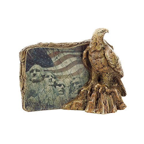 Napco Eagle and Flag Plaque, 8.25