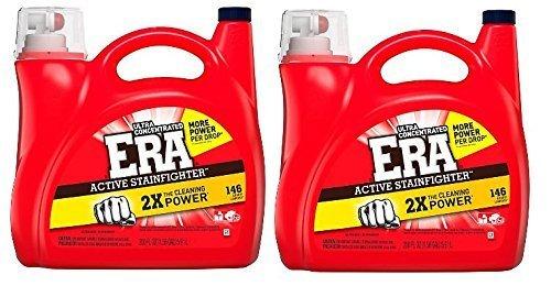 Era 2x Ultra He Two Pieces Liquid Laundry Detergent - 220 Oz