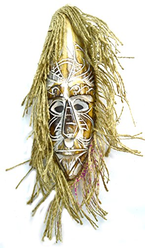 Tribal Hanging Mask Wall - 12