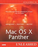 Mac OS X Panther Unleashed, William C. Ray and John Ray, 0672326043