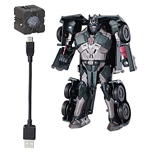 Transformers Allspark Tech Starter Pack Shadow Spark Optimus Prime]()