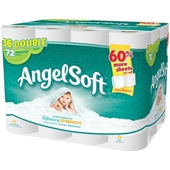 Amazon Com Angel Soft Toilet Paper 72 Regular Rolls