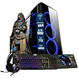 Pc Gamer Eros Intel i7 GTX 1660 6GB 16GB DDR3 Hd 1TB SSD 480GB Wi-fi