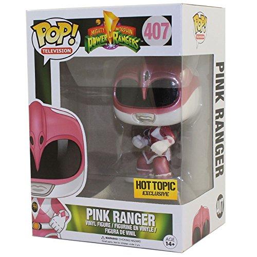Funko 12577–Power Rangers Ranger, Rosa Meta