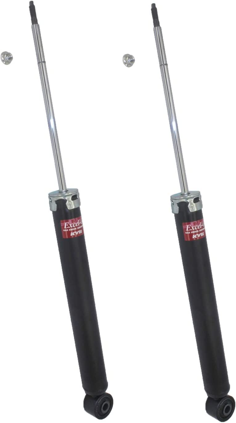 Pair Set of 2 Rear KYB Excel-G Suspension Shock Absorbers For Audi A4 A5 A6 A7 Quattro S5