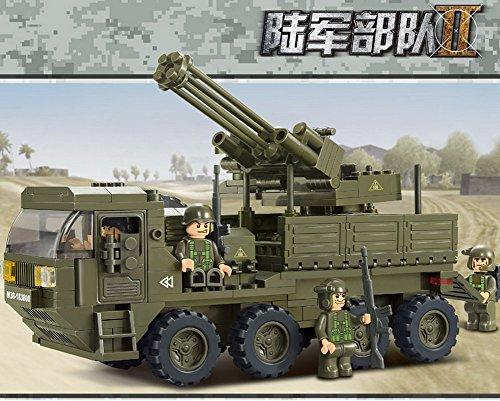 Sluban Building Block Mobile Artiller Anti-aircraft Guns Heavy Transport Star Wars B0302 311 Pieces