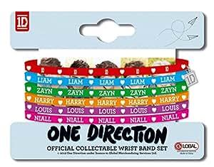 One Direction Gummy Bracelets 4 x 3in