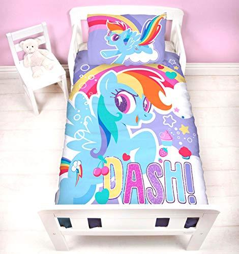 My Little Pony Crush Junior Panel Duvet Cover and Pillowcase Set