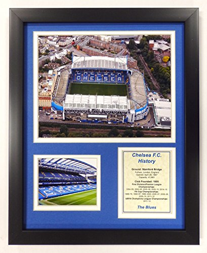 Legends Never Die Chelsea F.C. - Stamford Bridge Framed 12