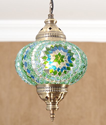 (Choose From 12 Designs) Turkish Moroccan Mosaic Glass