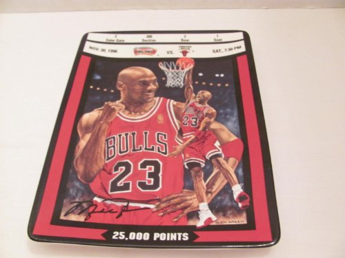 1997 Collectors Plate (MICHAEL JORDAN #23 NBA Collector Plate -