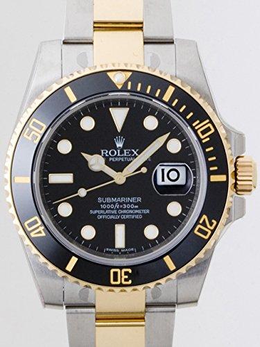 sale retailer 86395 a21a9 Amazon | ロレックス メンズ腕時計 サブマリーナデイト 116613LN ...